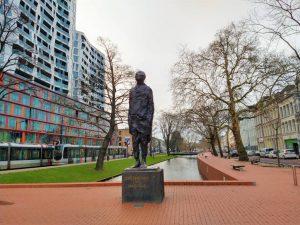 ongebroken verzet rotterdam hubert van lith street art monument