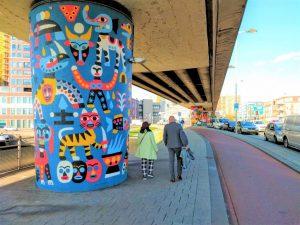 roar rotterdam art ride street art