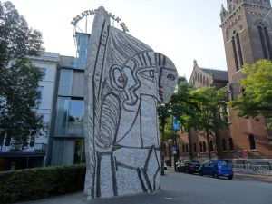 sylvette david pablo picasso carl nesjar street art rotterdam